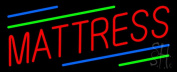 Sign Store N100-0697-outdoor Red Mattress Green Blue Line Outdoor Neon Sign 32 x 33cm x 8.9cm .