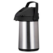 Original Gourmet Food Co. CPAP22 Direct Brew/Serve Insulated Airpot with Carry Handle 2200mL Stainless Steel