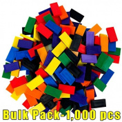 Bulk Dominoes plastic Mixed Bulk Pack 1,000pcs