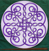 Purple Celtic Twists Mandalynth