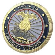 U.S. Navy USS John C. Stennis / CVN-74 GP Challenge Coin 1153#