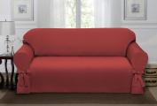 Madison Lucerne Sofa Slipcover, Paprika