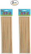 Bamboo Skewers, 100ct (2)