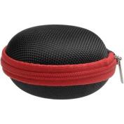 JVC HA-ECX20 Inner Ear Headphones (Black) with Case & 3 Microfiber Cloths