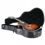 Guardian CG-022-P Deluxe Archtop Hardshell Case, Small Body Guitar Multi-Coloured