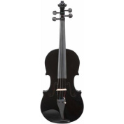 Le'Var 4/4 Student Violin Outfit, Midnight Black