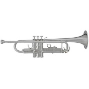 Blessing BRT-1277S Student Bb Trumpet, Silver-Plated