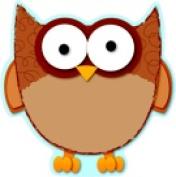 Carson Dellosa Owl Design Single Cutout Pack - 36