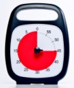 Time Timer Light-Weight Plus Timer - 14cm x 18cm . - Red