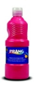 Prang Non-Toxic Ready-To-Use Liquid Tempera Paint - 1 Pt. Squeeze Bottle Red