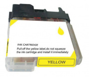 for Brother CLC65Y Ink Cartridge Compatible Yellow