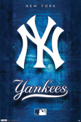 Hot Stuff Enterprise Z142-24x36-NA NY Yankees Poster 24 x 36