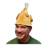 NorthLight Velvet Novelty Thanksgiving Turkey Hat - Adult