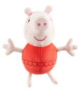 Peppa Pig Holiday Time 18cm Peppa In Bathing Suit Soft Plush Toy