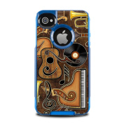 DecalGirl OCI4-MELEMENTS OtterBox Commuter iPhone 4 Skin - Music Elements
