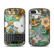 DecalGirl BQ10-SANGFLOR BlackBerry Q10 Skin - Sangria Flora