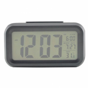 Denshine Digital Alarm LED Clock Light with Date Display, Repeating Snooze and Sensor Light Thermometer