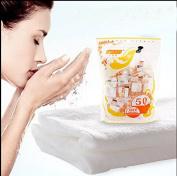 50 pcs disposable towel travel essential travel portable compressed cotton towel wash washcloth compress Sugan