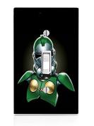 Doctor Doom Fantastic Four StormTrooper Art Light Switch Plate