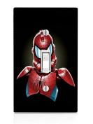 Spiderman StormTrooper Art Light Switch Plate