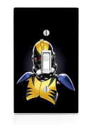 Wolverine StormTrooper Art Light Switch Plate