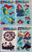 """Window Colour Clings - Disney's """"The Little Mermaid"""" - 14 Removable Decorations."""