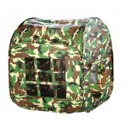 Anyshock[Tent Series] Army Green Large space Kids/Children Game PlayHouse Castle/Tent Indoor and Outdoor for Kids/Girls/Boys