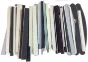 Craft Sanding Scraps, 150ml Bag, Mixed Grit, Various Shapes & Sizes,