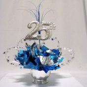 Awesome Events N2520RB6SL 25Th Milestone Centrepiece 2 Pack