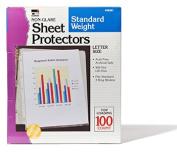 Charles Leonard CHL48281 Sheet Protectors Non Glare 10-Box