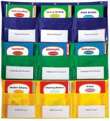 Carson Dellosa CD-158160 Centre Storage Pocket Chart