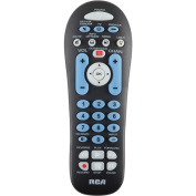 RCA RCR313BR 3-Device Universal Remote with Streaming Player Codes - Black