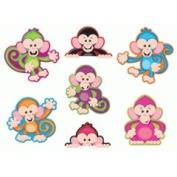 Trend Enterprises T-10974 Colour Monkeys Accents Standard Size- Variety Pack