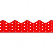 Trend Enterprises Inc. T-92663 Polka Dots Red Terrific Trimmers