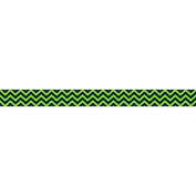 Teacher Created Resources TCR5542 Navy & Lime Chevron Straight Border