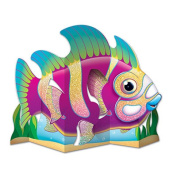 Beistle 54833 Glittered Fish Centrepiece Pack Of 12