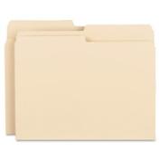 Business Source BSN17524 File Folder 11 pt .5 Cut Ast Tabs Letter 100-BX Manila