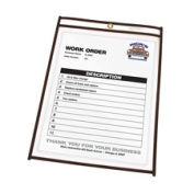 C-Line Products- Inc. CLI46912 Shop Ticket Holder- Stitched- 23cm .x 12in.- Clear Vinyl