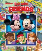 Disney Junior Fun with Friends Look & Find
