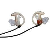 EP4 Sonic Defender Earplugs Clear - Small 1 Pair