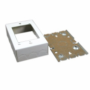 Wiremold Company Bw3 Wiremold Deep Out Box-Wh BW3