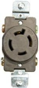 Morris Products 89742 Locking Receptacles 20A 3Pole 4Wire