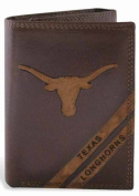 ZeppelinProducts UTX-IWD2-BRW Texas Trifold Debossed Leather Wallet