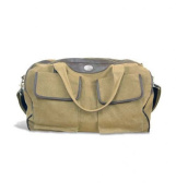 ZeppelinProducts GAS-BWX1-KHK Georgia Southern Duffel Bag Waxed Canvas 21 x 15 x 12