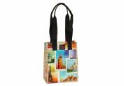 Joann Marie Designs P2LB2TRAV Poly Lrg. Lunch Bag - Travel Pack of 6