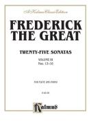 Alfred 00-K02155 Twenty-five Sonatas- Volume III