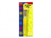 Bulk Buys GG046-72 10 Colour Pen - Pack of 72