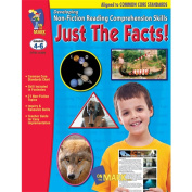 On The Mark Press OTM14289 Just the Facts Developing Non Fiction Reading Comprehension Skills Gr. 4-6