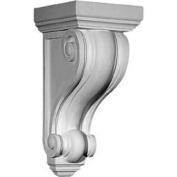 Ekena Millwork COR05X05X09DE 13cm . W x 13cm . D x 24cm . H Architectural Devon Corbel