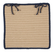 Boat House - Navy Chair Pad